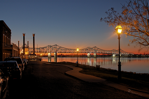 MISS RIVER BRIDGE NATCHEZ